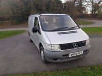 MERCEDES VITO 110CDI 03 2003 PX POSSIBLE
