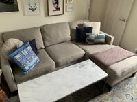 West Elm Right-Hand Chaise Sofa
