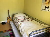 IKEA 2 singles guest bed
