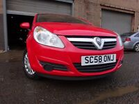 58 VAUXHALL CORSA 1.0,MOT AUG 017,2 OWNERS,2 KEYS,FULL HISTORY,LOW INSURANCE GROUP,STUNNING EXAMPLE