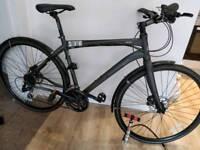 Town city hybrid bike