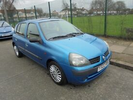 Renault Clio 1.5 DCi Expression 5 door 2002 (02)