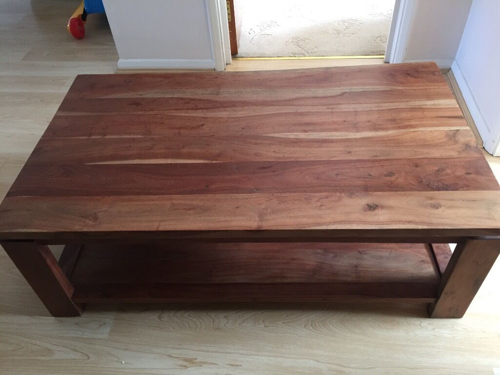 John Lewis Large Coffee Table Solid Acacia wood. John Lewis Large Coffee Table Solid Acacia wood   in Southsea