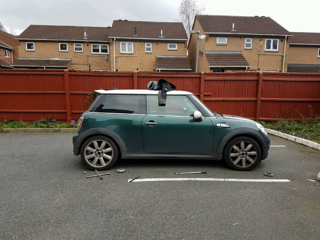 Mini Cooper S R56 17 Alloy Wheels With Run Flat Tyres Silver