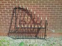 Garden decoration gate