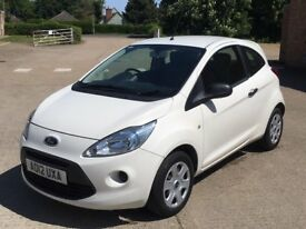 Ford Ka 1.2 Studio (2012) 37,500 miles - Petrol - Manual - 3 door - FSH + New MOT - Warranty