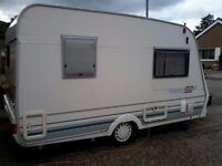 Lunar Ultralite 360 two berth caravan for sale. With mover, new tyres,new battery also an awning