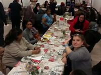 Weekly community lunches in Bethnal Green, East London - All welcome!