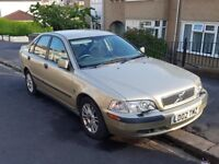Volvo S40 (2002, fsh, air conditioning, electric mirrors, heated seats, alloy wheels)