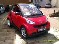 SMART FORTWO COUPE CDI Passion Auto (black) 2009