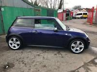 MINI COOPER S, 2005, 1.6 supercharged, long mot, clean car, £1695 ono