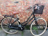 Vintage Pendleton Ladies Bike with basket. Previously owned, in good condition