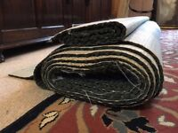 Carpet underlay - free to collect. High quality, 2 pieces. 6m x 1.37m and 0.94m x 1.37m