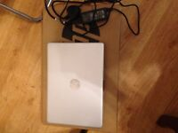 Hp i3 256GB SSD silver laptop boxed