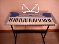 Electric keyboard idea for learner.