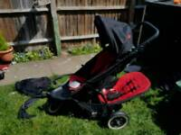 Phil and ted double pushchair