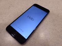 UNLOCKED ALL NETWORKS iPhone 6 16GB Used Grey 2 YEAR WARRENTY!