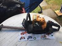 petrol hedge trimmer ,partner powered by husqvarna