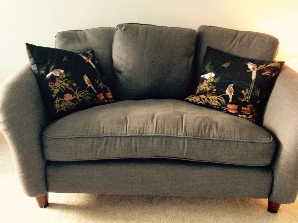 Pristine Dfs 2 Seater Sofa In 39 Slate 39 In Garforth West