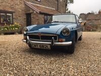 1973 MG B GT BLUE COUPE- 1.8- RUNNING PROJECT