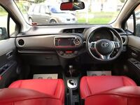 TOYOTA YARIS 1.3**AUTOMATIC**3 TOYOTA STAMPS**REVERSE CAMERA**LEATHER**BLUETOOTH**