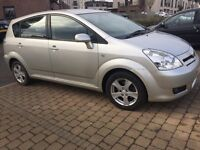 Toyota corrolla verso 7 seater reliable family car