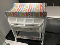 My Child Changing Station/Unit with concealed bath tub
