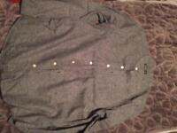 New collarless shirt