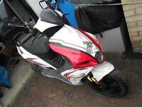 MOTO ROMA G10 50CC SCOOTER 2012 FULL MOT LOW MILAGE 3300 MILES P/X DECENT MOUNTAIN BIKE
