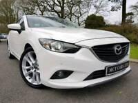 June 2013 Mazda6 2.2d Sport! £20 Road Tax! Sat-Nav, Xenons, Leather! Reverse Camera! Bose! 1 Owner!