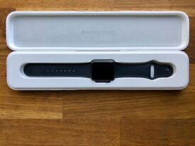 Apple Watch Sport series 1 (space grey aluminium 38mm) boxed & in MINT condition.