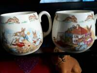 Royal doulton bunnykins mugs