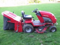 Countax 600H ride on lawnmower and grass collector