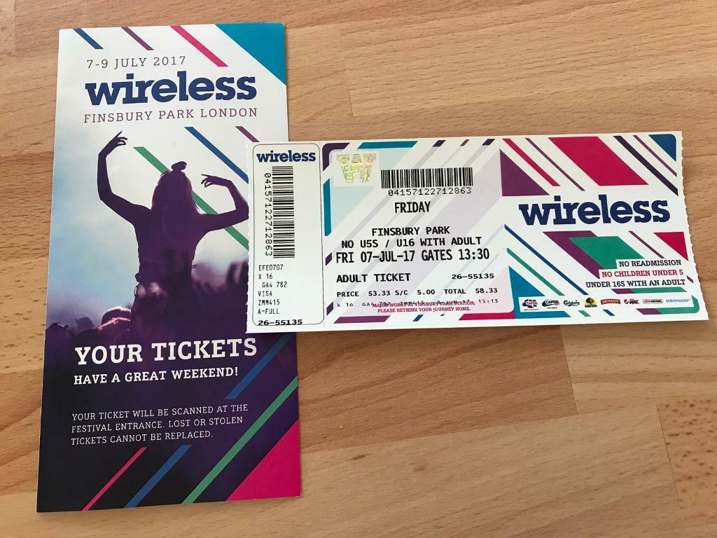Bedside Tables Cheap Wireless Festival Ticket Friday 7th July In Hadleigh