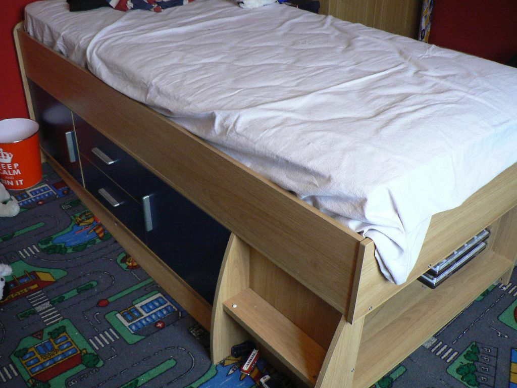 Kidspace Bedroom Furniture Kidspace Jersey Cabin Bed In Southampton Hampshire Gumtree