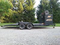 Open Trailer with enclosed box!!
