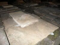 YORK STONE FLAGS - PREMIUM YORK STONE FLAGS BOUGHT AND SOLD FROM £65 TO £85 PER SQUARE YARD .