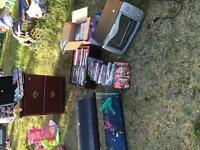Garage sale in Bowness on Sunday May 31