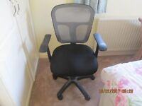 Office Chair with gas lift adjustment..