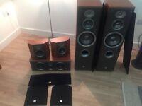 Speakers jbl northridge e60,e25,e10