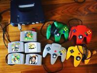 N64 Games Console bundle
