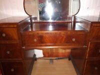 Solid Wood Dressing Table, vintage