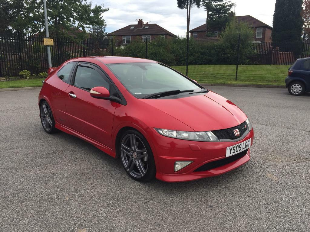 HONDA CIVIC GT- TYPE R 3DR RED HIGH SPEC XENONS 2009 IMMACULATE CAR