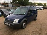 Ford transit connect 1.8 tdci-side dr-2007-roof rack-ready for work-part ex welcome