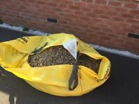 Free to collect.....Half filled bulk bag of gravel