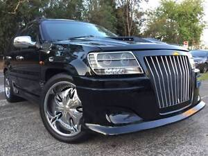 Muscle Car Jeep 4x4 Rolls Royce Replica Front Grill A1 Sutherland Sutherland Area Preview