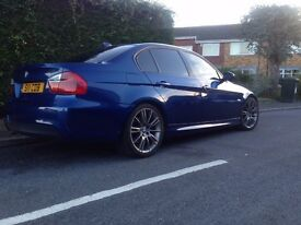 BMW 318d M SPORT Le Mans Blue Manual Low Miles / New clutch/flywheel/ Manual Diesel
