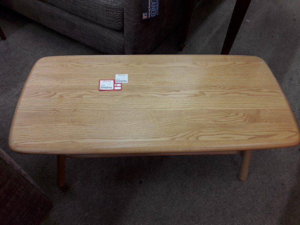 Ercol Windsor Coffee Table RRP £540