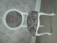 CHAIR newly re-upholstered