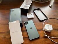 iphone 11 pro max - midnight green